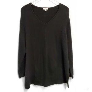 J. Jill Black Oversized Sweater